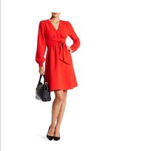 Kate spade New York red medi dress